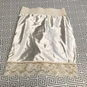 Vintage Victoria Secret Skirt Girdle/ Slip